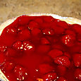 No Bake Strawberry Cheescake