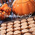 Iced Chocolate Chip Pumpkin Cookies