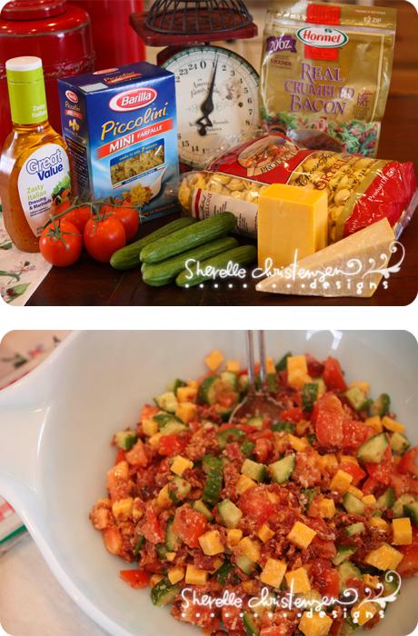 Italian Pasta Salad My Crazy Life As A Farmers Wife