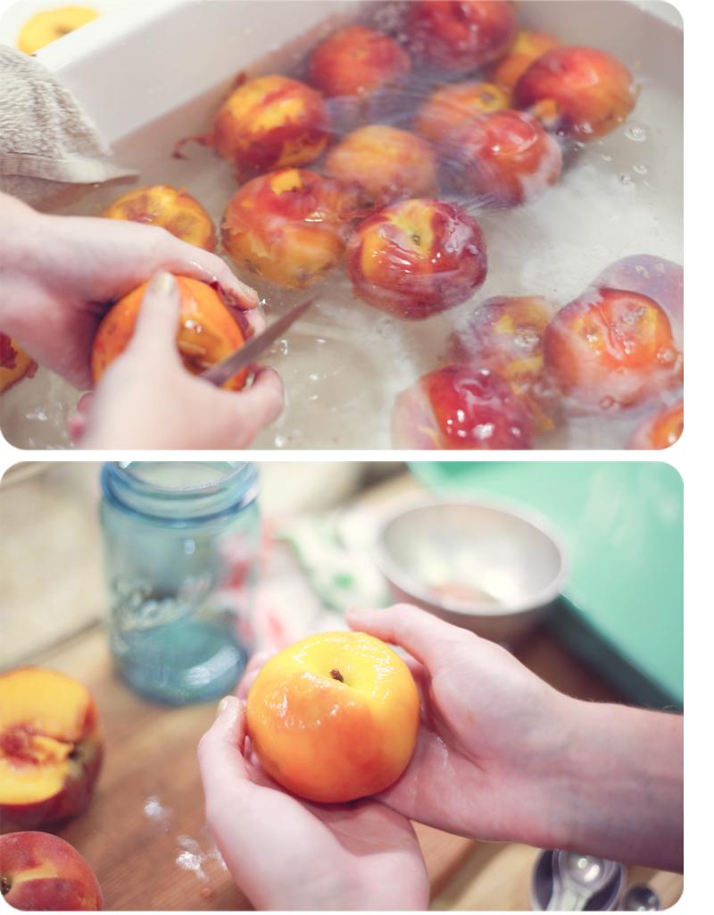 Vanilla Peach Freezer Jam 4