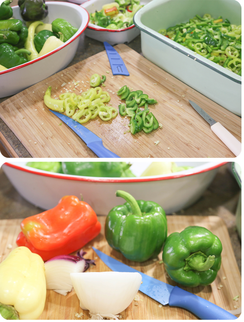 Sweet & Sour Pickled Banana Peppers1