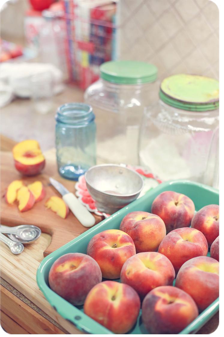 Vanilla Peach Freezer Jam 3