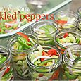Sweet & Sour Pickled Peppers (and onions)