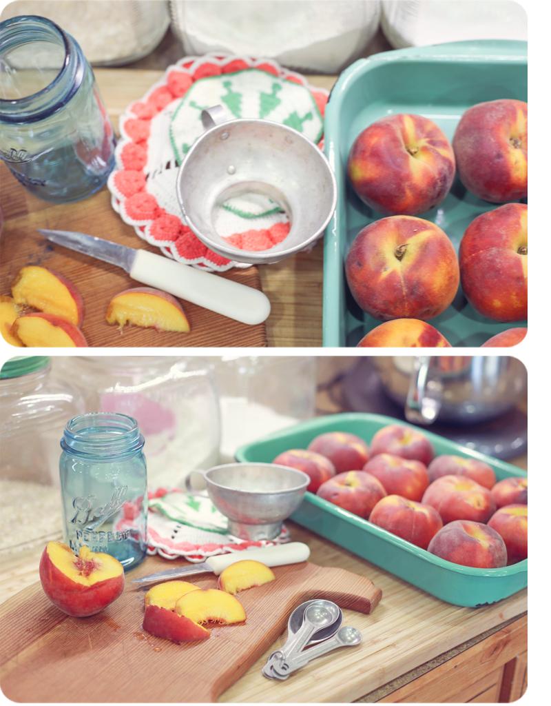 Peach Vanilla Freezer Jam 2