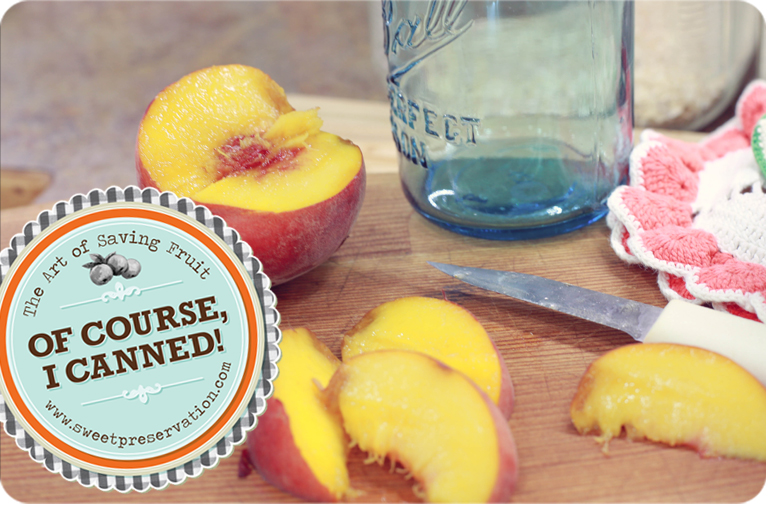 Peach Vanilla Freezer Jam 1