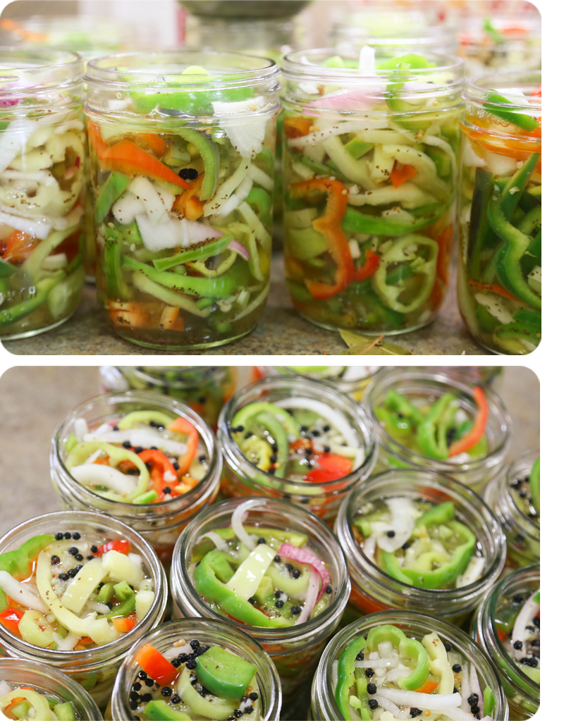 Sweet & Sour Pickled Banana Peppers 9