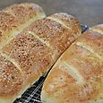 French Bread with Garlic Herb Spread