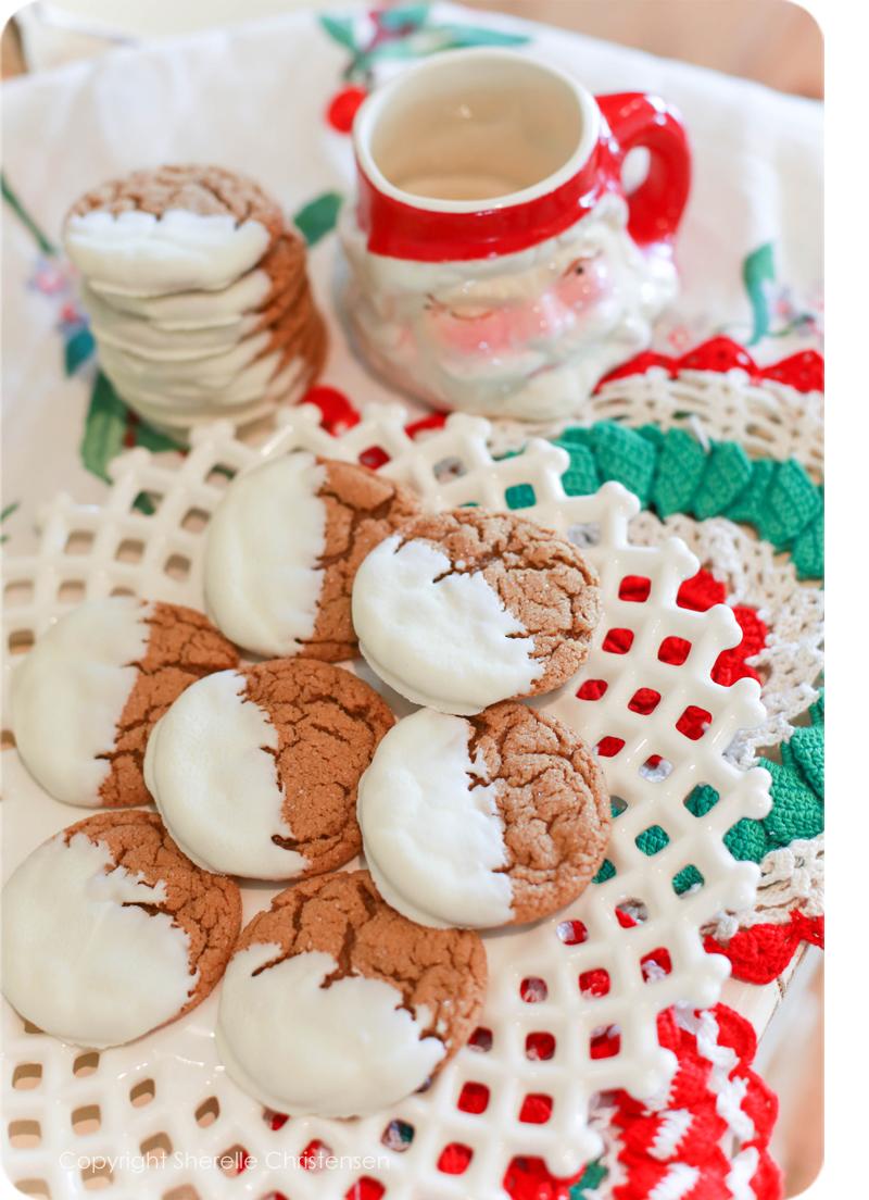 Soft Molasses Cookies 1