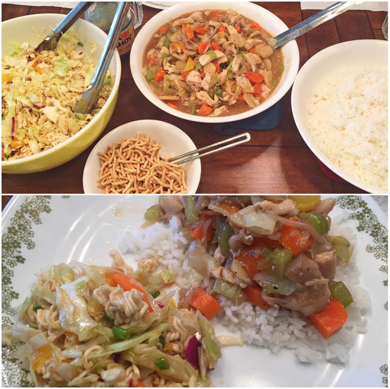 Chow Mein & Ramen Noodle Salad