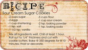 Sourcreamsugarcookies